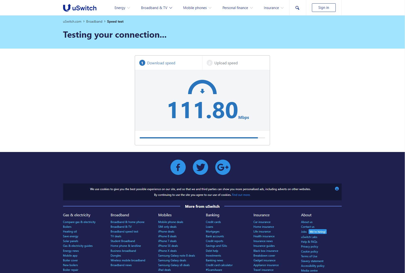 Uswitch com - Speedtest - Direct-services s r o