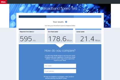 Which.co.uk - Speedtest